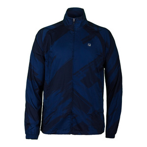 FILA MENS HURRICANE TENNIS JACKET NAVY