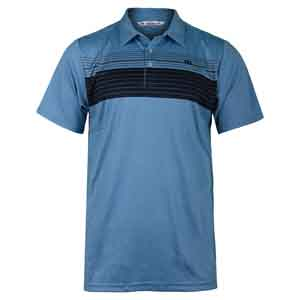 Men`s Cox Tennis Polo Brilliant Blue