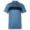 TRAVISMATHEW Men`s Cox Tennis Polo Brilliant Blue