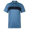 TRAVISMATHEW Men`s Cox Tennis Polo Brilliant Blue