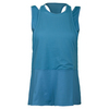 LIJA Women`s Team Spirit Tennis Tank Elderberry