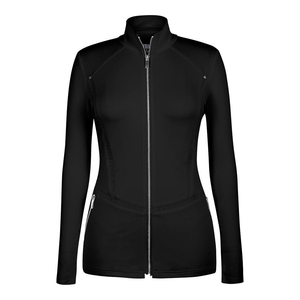 Women's Leilani Tennis Jacket Black