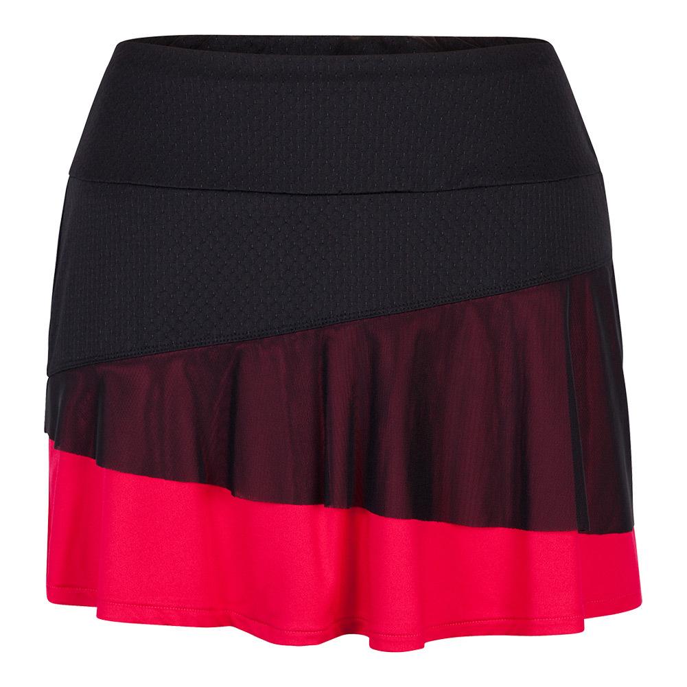 Women's Nikita 14.5 Inch Tennis Skort Matador Red And Black