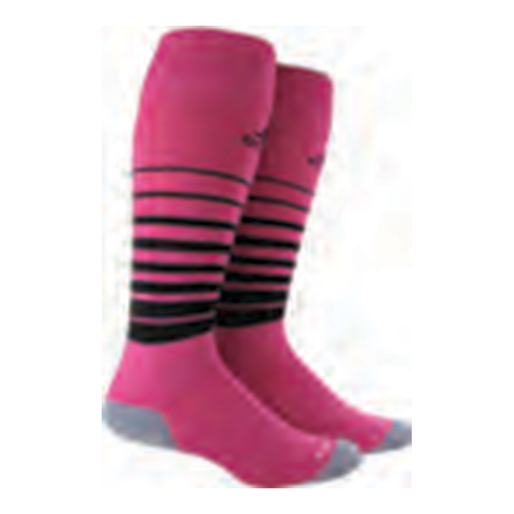 Team Speed Medium Socks Intense Pink And Black