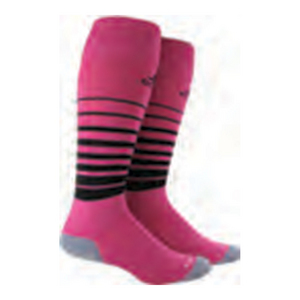Team Speed Large Socks Intense Pink and Black