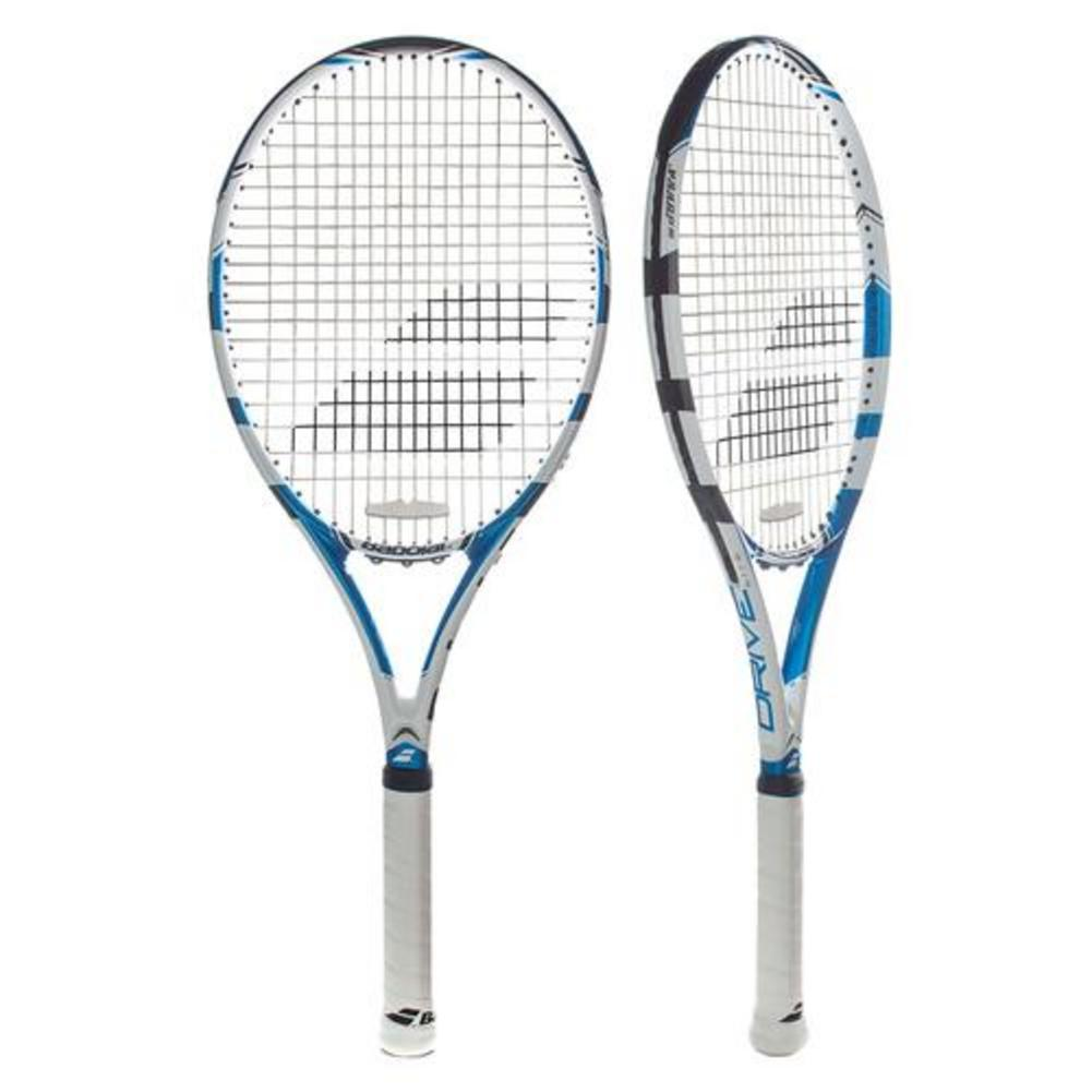 Drive Lite Demo Tennis Racquet Blue And White