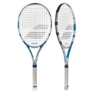 Drive Lite Demo Tennis Racquet Blue and White