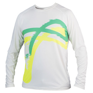 Boys` Match Long Sleeve Tennis Top Blast Green
