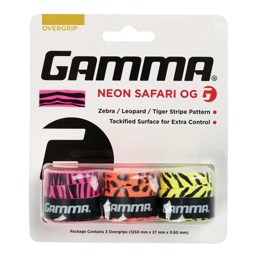 Neon Safari Tennis Overgrip