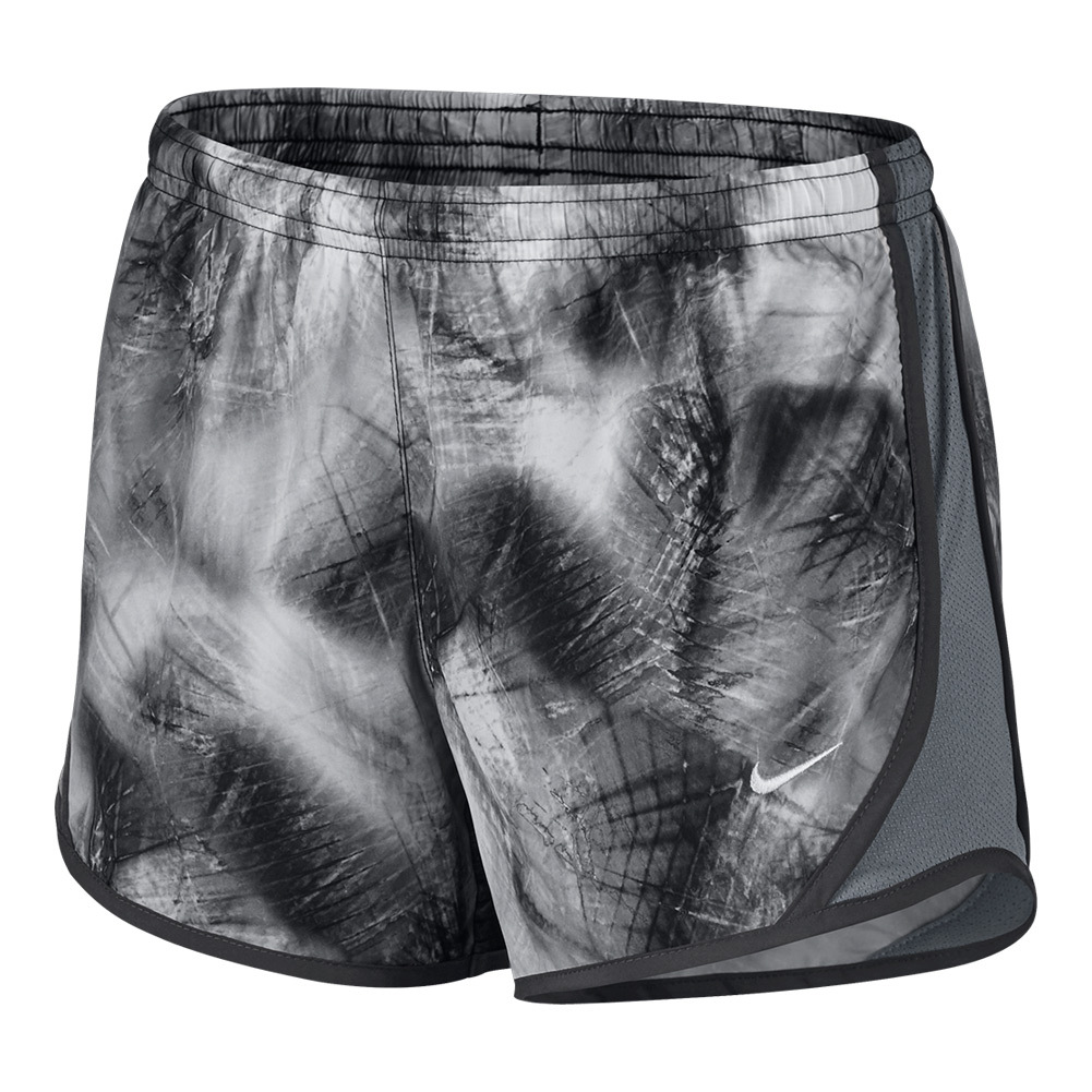 Girls ` Dry Tempo Running Short Anthracite And Cool Gray