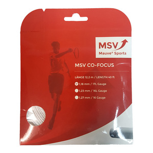 MSC Co Focus 118 White Tennis String