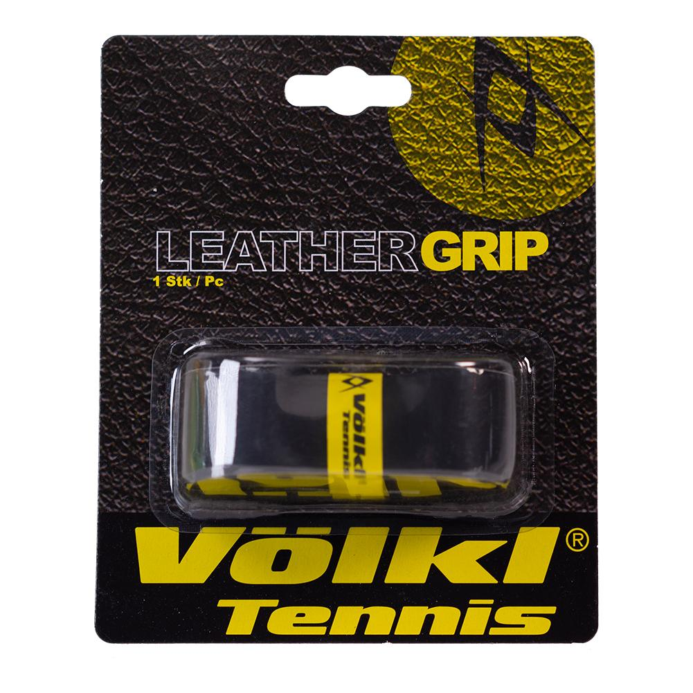 Leather Replacement Tennis Grip Black