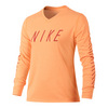 Girls` Dry Matchsticks Training Tee 835_PEACH_CREAM