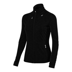 Women`s Thermopolis Full Zip Jacket Performance Black