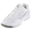 NIKE Women`s Zoom Cage 2 Tennis Shoes White and Medium Gray