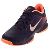 NIKE Women`s Air Zoom Ultra Tennis Shoes Purple and Mango