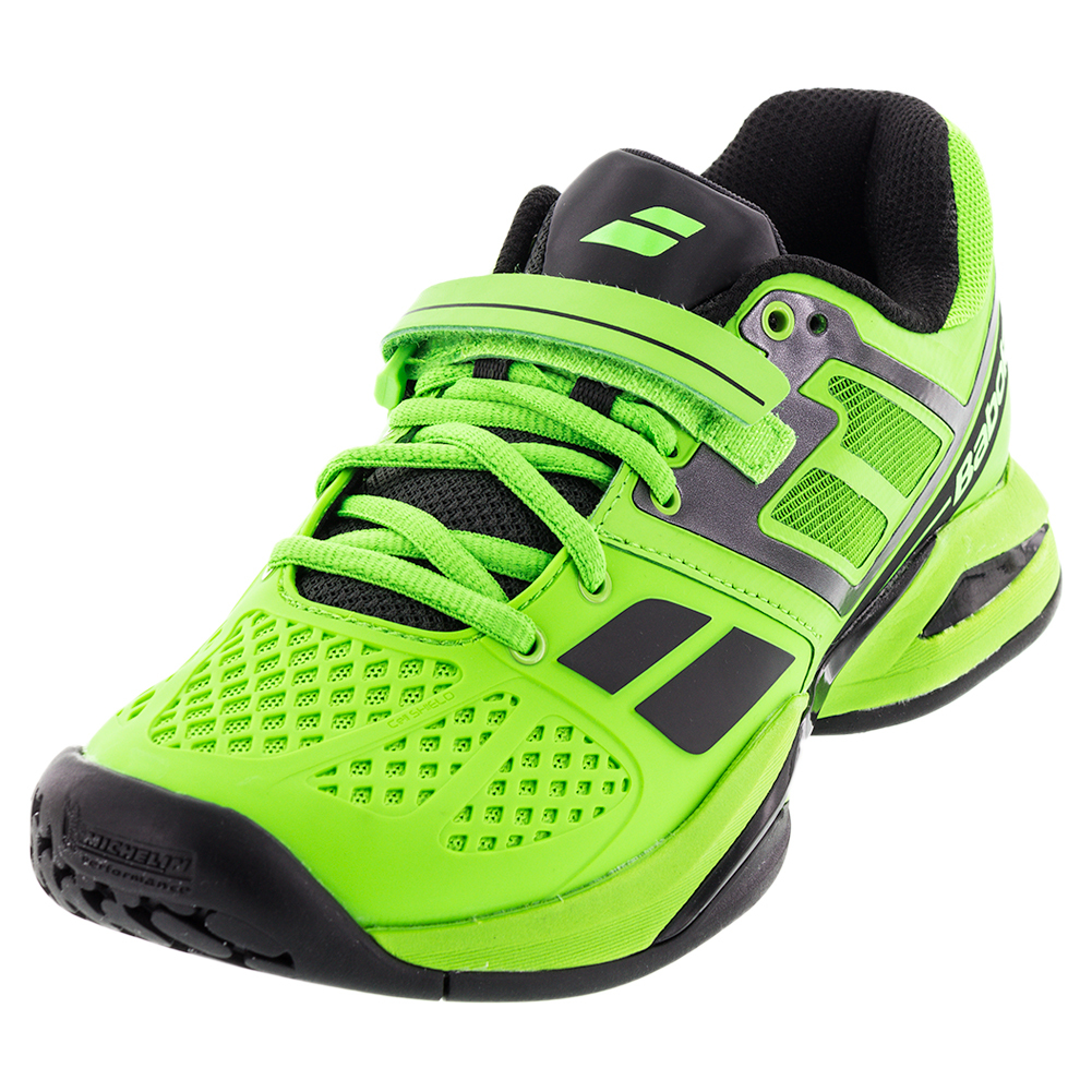 babolat s propulse bpm tennis shoes bk lime