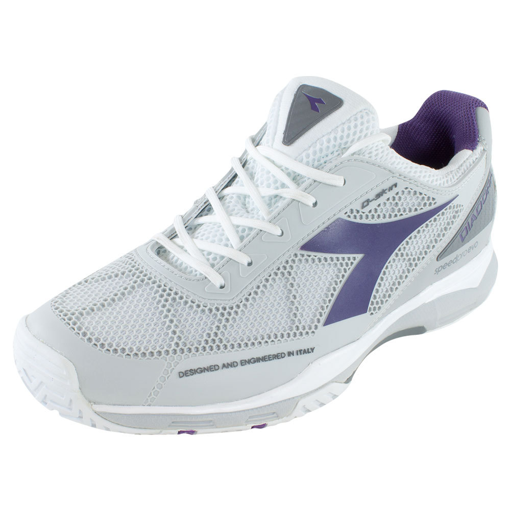 Women's S Pro Evo Ag Tennis Shoes White And Violet