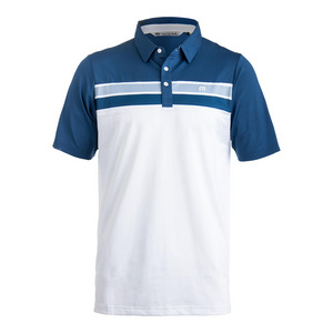 Men`s Ko and Campa Tennis Polo White