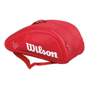 Federer DNA 12 Pack Tennis Bag Red