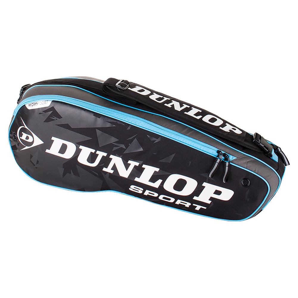 Performance 3 Racquet Tennis Bag Black And Blue