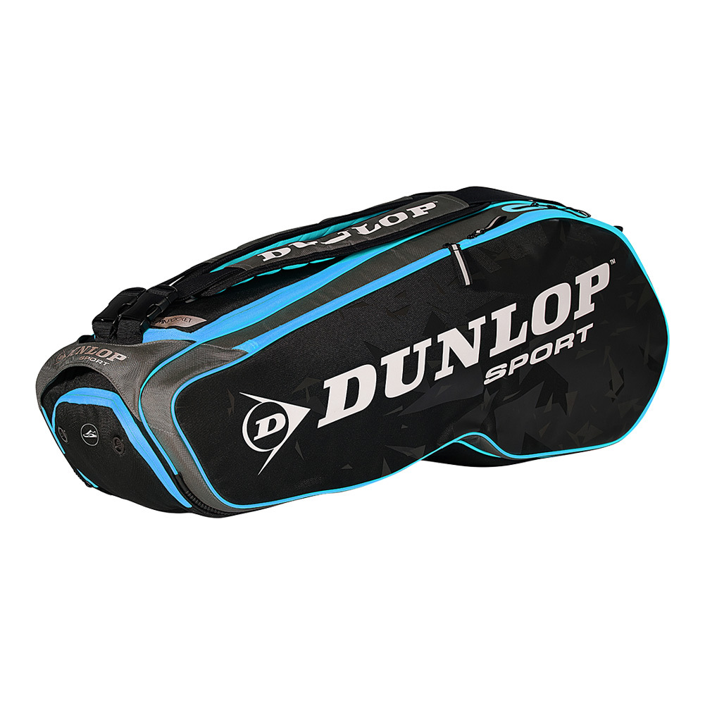 Performance 8 Racquet Tennis Bag Black And Blue