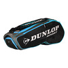 DUNLOP Performance 8 Racquet Tennis Bag Black and Blue