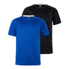 Men`s 3D Honey Comb Mesh Tennis Crew BLACK