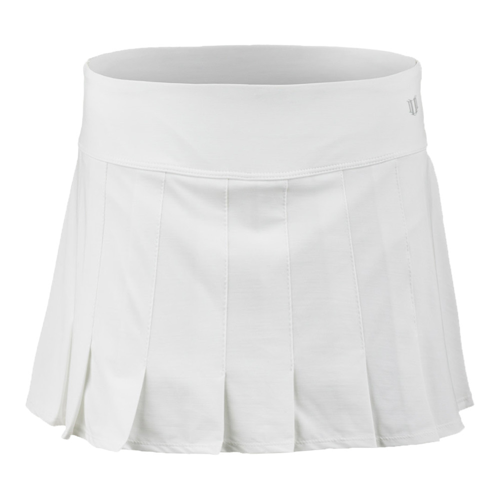 Women's Flutter 14.5 Inch Tennis Skort White
