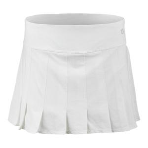 Women`s Flutter 14.5 Inch Tennis Skort White
