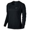 Women`s Dry Miler Long Sleeve Running Top 010_BLACK