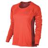 Women`s Dry Miler Long Sleeve Running Top 852_MAX_ORAN/DK_CAYN