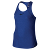 NIKE Girls` Slam Tennis Tank Comet Blue