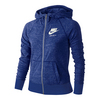 Girls` Sportswear Gym Vintage Hoodie 478_COMET_BLUE/SAIL