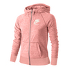 Girls` Sportswear Gym Vintage Hoodie 808_BRIGHT_MELON/SL