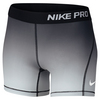 Girls` Pro Cool Short 010_BLACK/PURE_PLAT