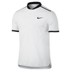 Men`s Court Advantage Tennis Polo 100_WHITE/BLK