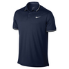 Men`s Court Solid Dry Tennis Polo 410_MIDNIGHT_NAVY