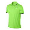 Men`s Court Solid Dry Tennis Polo 367_GHOST_GREEN