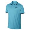 Men`s Court Solid Dry Tennis Polo 432_VIVID_SKY