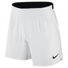 Men`s Court Flex Ace 7 Inch Tennis Short 100_WHITE/BLACK
