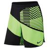 Men`s Court Flex Ace 9 Inch Tennis Short 367_GHOST_GREEN/BLK