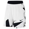 Men`s Court Dry 9 Inch Tennis Short 100_WHITE/BLACK