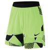 Men`s Court Dry 9 Inch Tennis Short 367_GHOST_GREEN/BLK