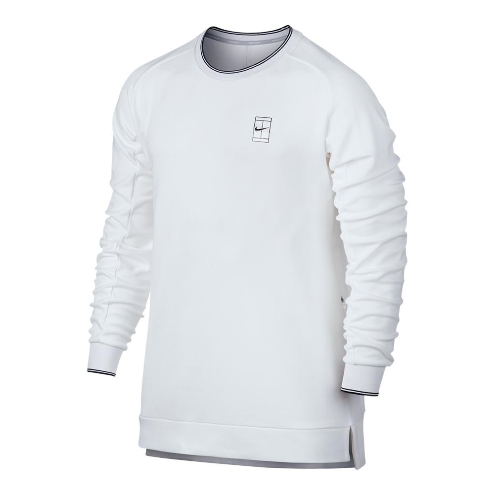 Men's Court Baseline Long Sleeve Tennis Top