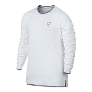 Men`s Court Baseline Long Sleeve Tennis Top