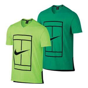Men`s Court Dry Baseline Tennis Top