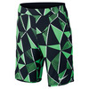 Boys` Flex Ace Tennis Short 300_ELECTRO_GRN/BLK