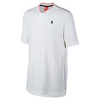 Men`s Court Tennis Polo 100_WHITE