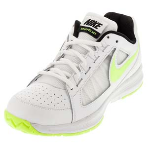 Women`s Air Vapor Ace Tennis Shoes White and Volt